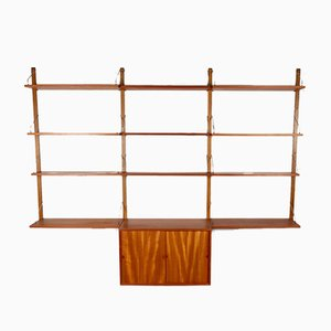 Wall Unit by Poul Cadovius for Cado, 1960s, Set of 16