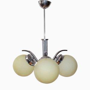 Lámpara de techo Bauhaus, años 30
