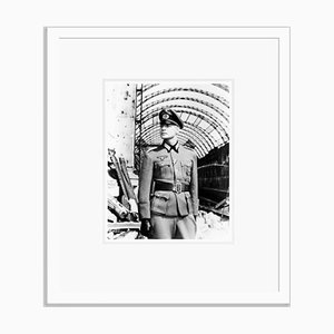 Marlon Brando in the Young Lions Archival Pigment Print Framed in White by Everett Collection