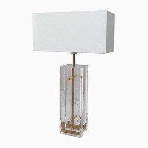 Vintage Plexiglas Table Lamp