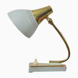 Lampe de Bureau Bleue Mid-Century, 1950s