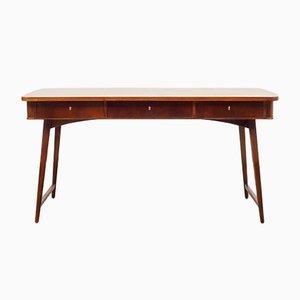 Schreibtisch aus Eschenholz, 1960er