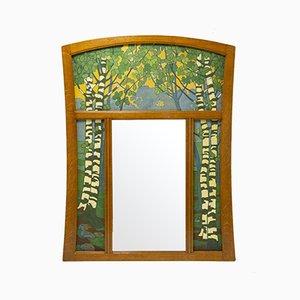 Specchio Pier antico di Gustave Serrurier-Bovy
