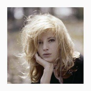 Monica Vitti Framed in White by Giancarlo Botti