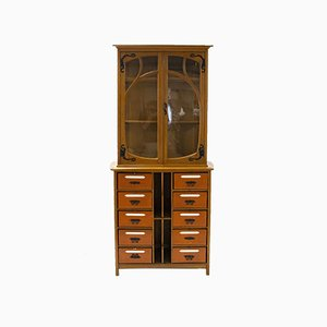 Antique Art Nouveau Cupboard by Gustave Serrurier-Bovy