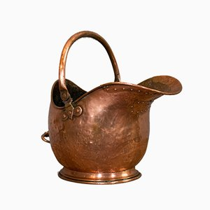 Antique Helmet Scuttle