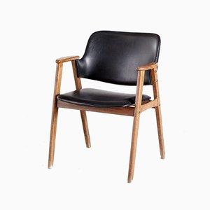 Vintage Armlehnstuhl aus Holz, 1960er