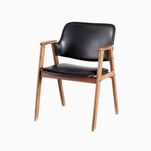 Vintage Wooden Armchair, 1960s