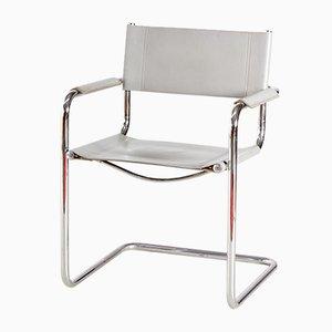 Tubular Steel Armchair, 1980s