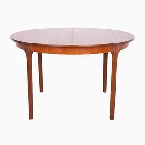 Tavolo da pranzo rotondo allungabile di McIntosh, anni '60