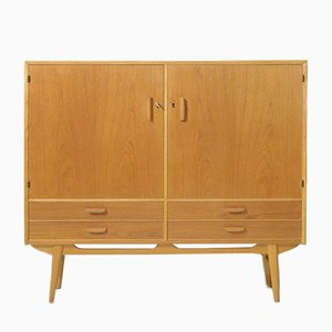 Danish Highboard or Bar Cabinet, 1950s