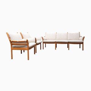 Sofa by Illum Wikkelsø for CFC Silkeborg, 1960s