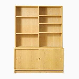 Scandinavian Bookcase by Børge Mogensen, 1950s