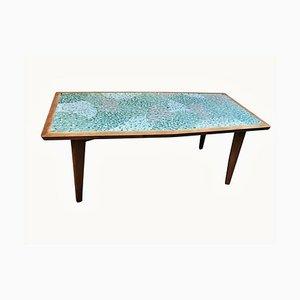 Tavolino da caffè con mosaico, anni '60