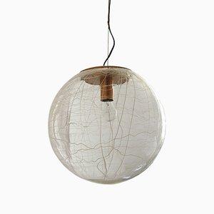 Mid-Century Glassa Murano Sphere Ceiling Lamp, 1960s