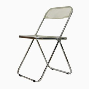 Mid-Century Plia Folding Chair by Giancarlo Piretti for Castelli / Anonima Castelli