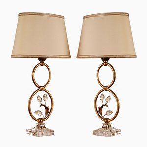 Mid-Century Italian Table Lamps from Banci Firenze, 1970s, Set of 2