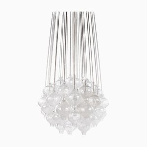Tulipan Chandelier by J. T. Kalmar for Kalmar, 1960s