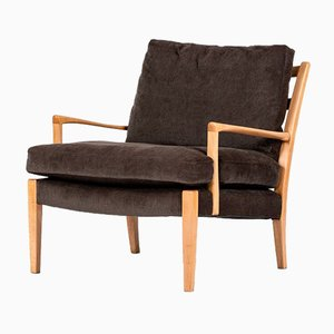 Mid-Century Swedish Loven Lounge Chair by Arne Norell for Arne Norell AB, 1960s