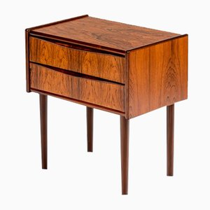 Danish Rosewood Bedside Table, 1960s