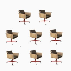 Dining Chairs from Stol Kamnik, 1950s, Set of 8