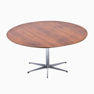 Rosewood Dining Table by Arne Jacobsen for Fritz Hansen, 1960s