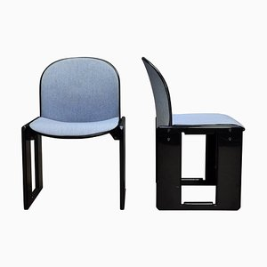 Dialogo Chairs by Afra & Tobia Scarpa for B&B Italia, 1970s, Set of 2