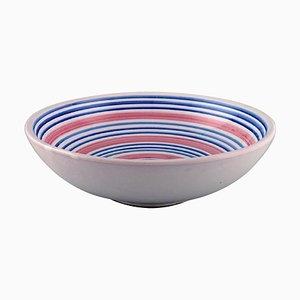 Large Bowl in Glazed Stoneware by Ingrid Atterberg for Upsala Ekeby, 1950s