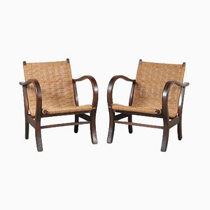 German Lounge Chairs by Erich Dieckmann, 1930s, Set of 2