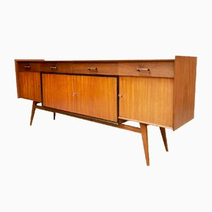 Vintage Dutch Teak Sideboard, 1950s