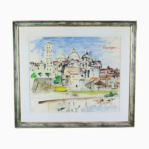 Perigueux Painting by Hans Olde