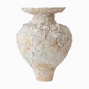 Isolierte N.17 Steingut Vase von Raquel Vidal und Pedro Paz
