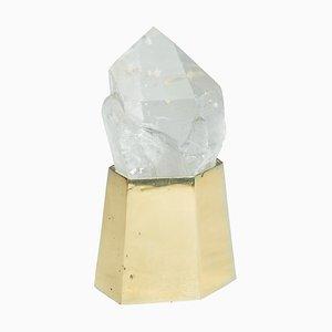 Unique Quartz Crystal Lighting Single von Demian Quincke