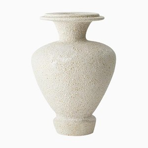 Hydria Hueso Stoneware Vase von Raquel Vidal und Pedro Paz