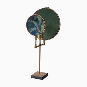 Blaugraue Circle Tischlampe von Sander Bottinga