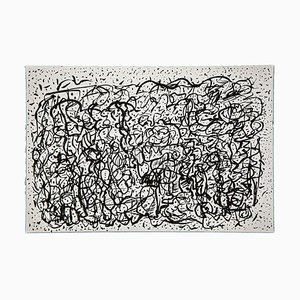 Vibrations Ink on Paper by Maurizio Gracceva, 2017
