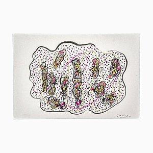 Reflexion Ink und Pencil on Paper von Maurizio Gracceva