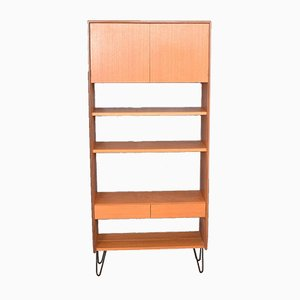 Teak 5-Form Bookcase Room Divider from G-Plan, 1960s