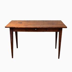 Antique Rustic Oak Kitchen Table
