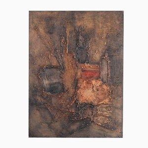 Lyrisches Abstraktes Gemälde von Georges Sempels, 1960