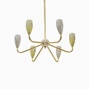 Lustre Sputnik Mid-Century Style Stilnovo