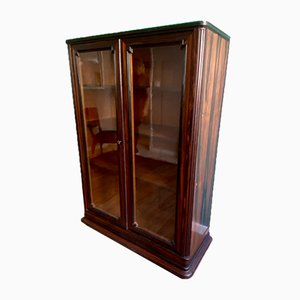 Art Deco Macassar Ebony Showcase, 1930s