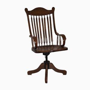 Sedia da scrivania Senior antica, Stati Uniti