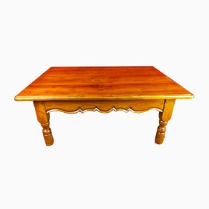 19th Century Italian Louis Philippe Cherry Coffee Table