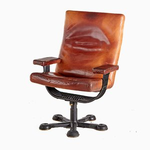 Vintage Danish Chief Executive Office Chair, 1970s