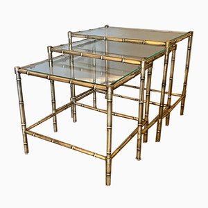Mid-Century Nesting Tables from Maison Jansen