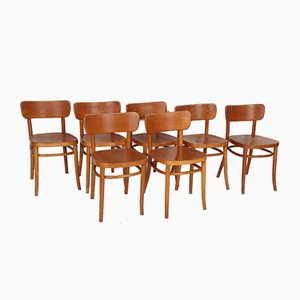 Dining Chairs by Magnus L. Stephensen for Fritz Hansen, 1931, Set of 7