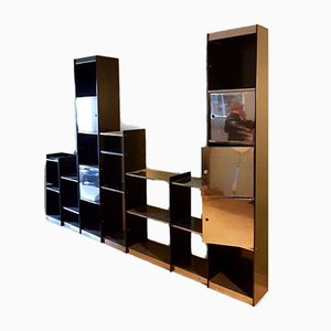Bookcase by Willy Rizzo for Cidue, 1970s