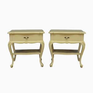 Antique Gustavian Nightstands, Set of 2
