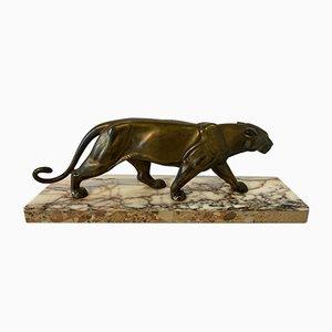 Französischer Art Deco Panther, 1930er